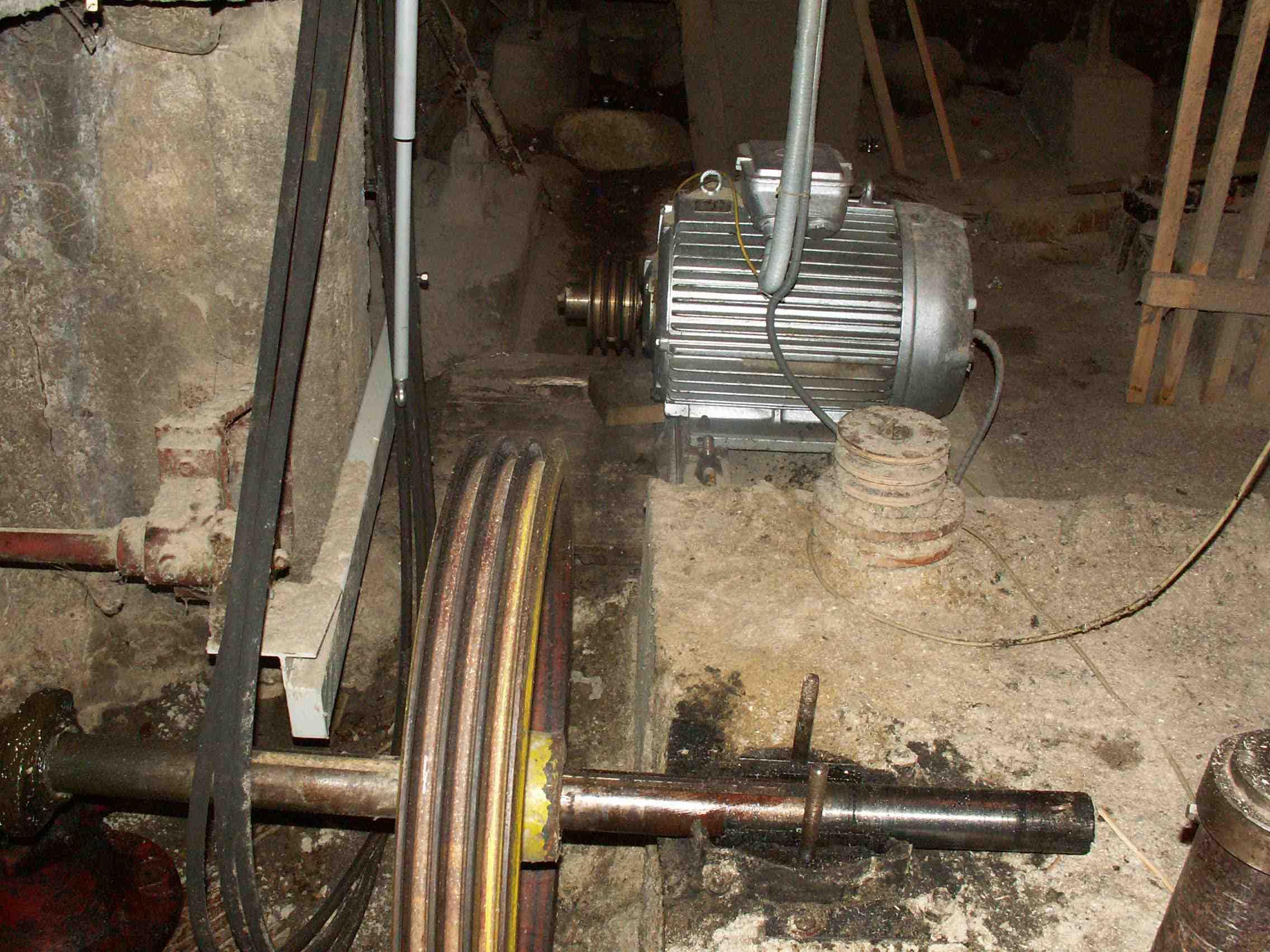Stará 100 - ročná turbína